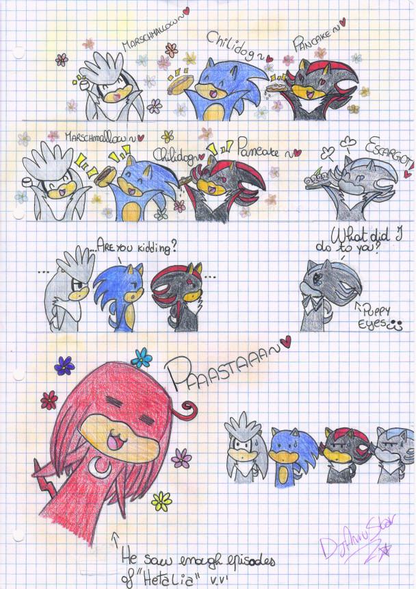 Sonic Funny Comic By Djamustar On Deviantart