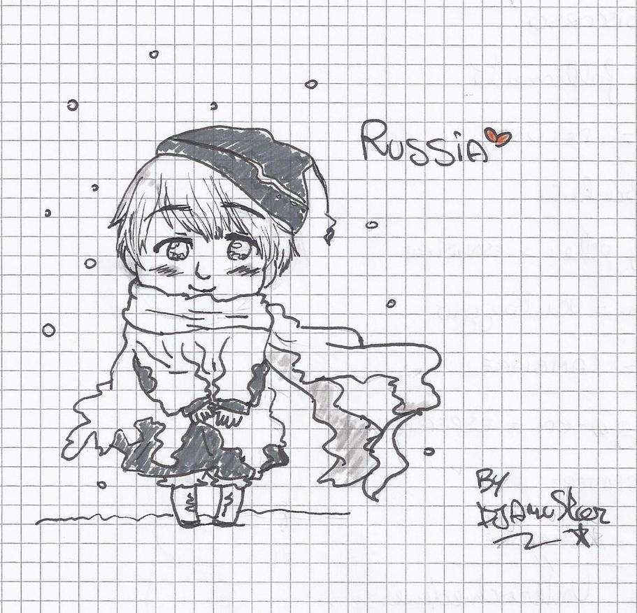 Child Russia by DjAmuStar