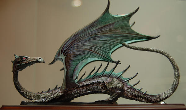 green dragon by ImpalaStock