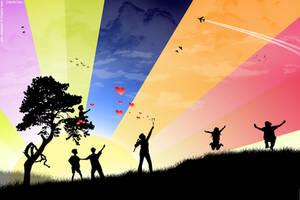 Colorful Joy_collabration by uAe-Designer