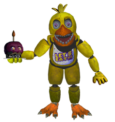 Un-withered Chica Full Body