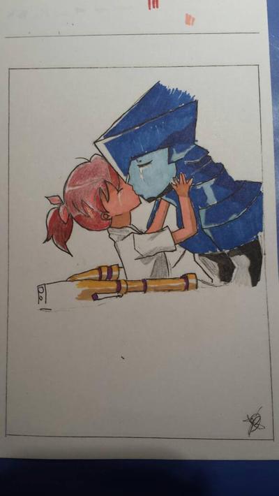 Brigadoon marin to melan color by kikibabylove15