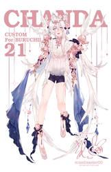 [Custom l Chanda 21] for buru-chii by missdisaster00