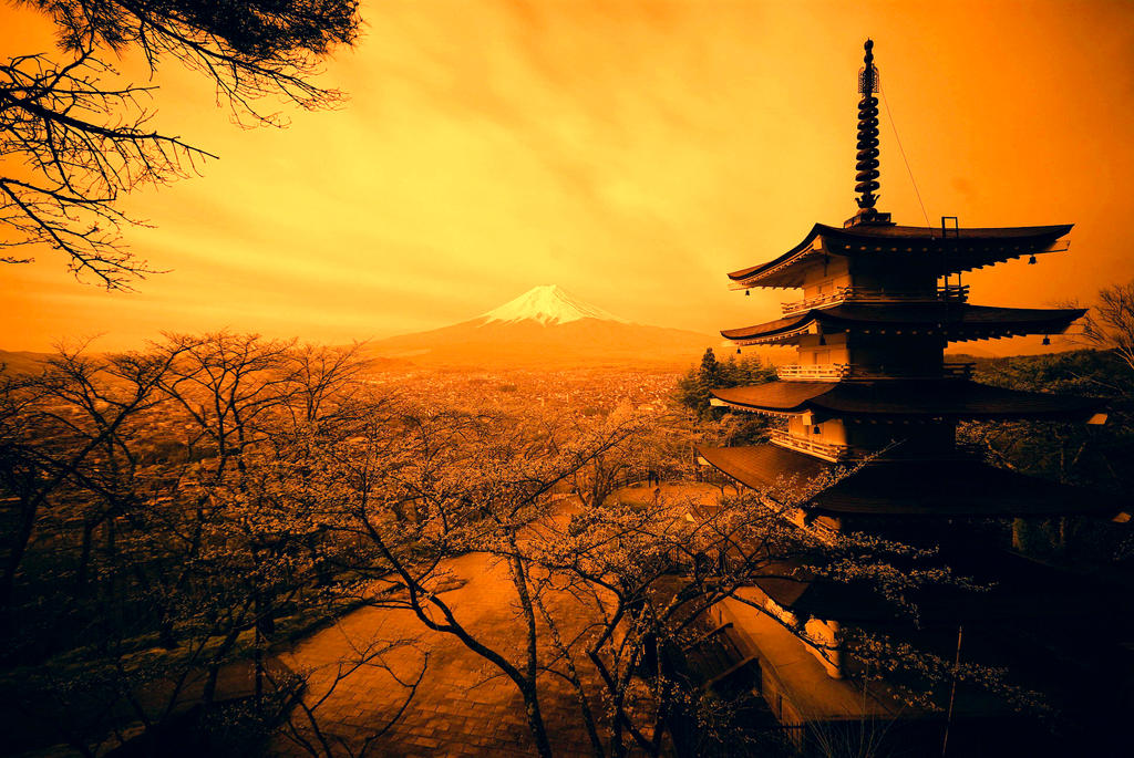 Mount Fuji, Japan - R72 by matsunuma