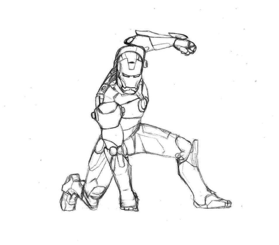 iron man armor in progress by silverleon88