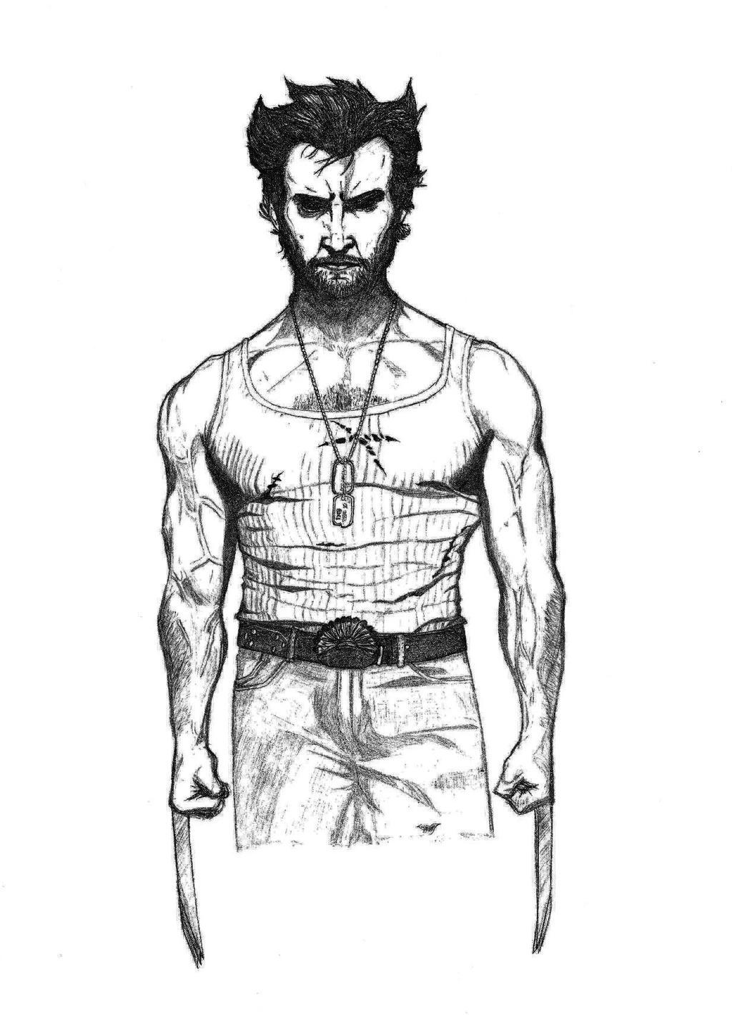 Wolverine by SilverLeon88