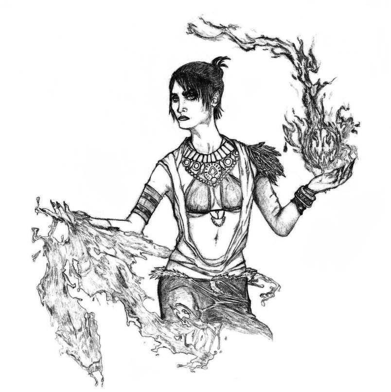 Morrigan by SilverLeon88