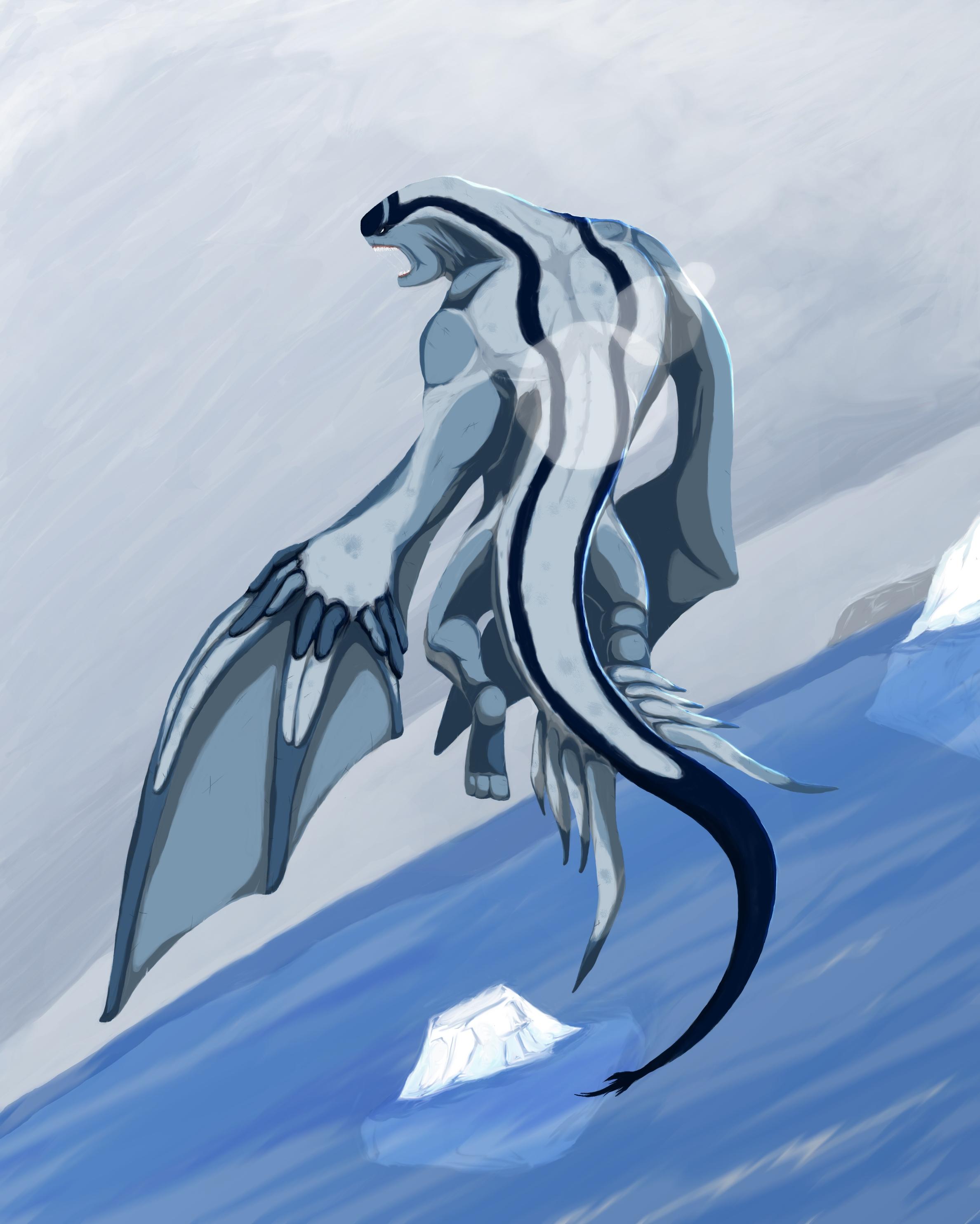 Deep Blue Dragon