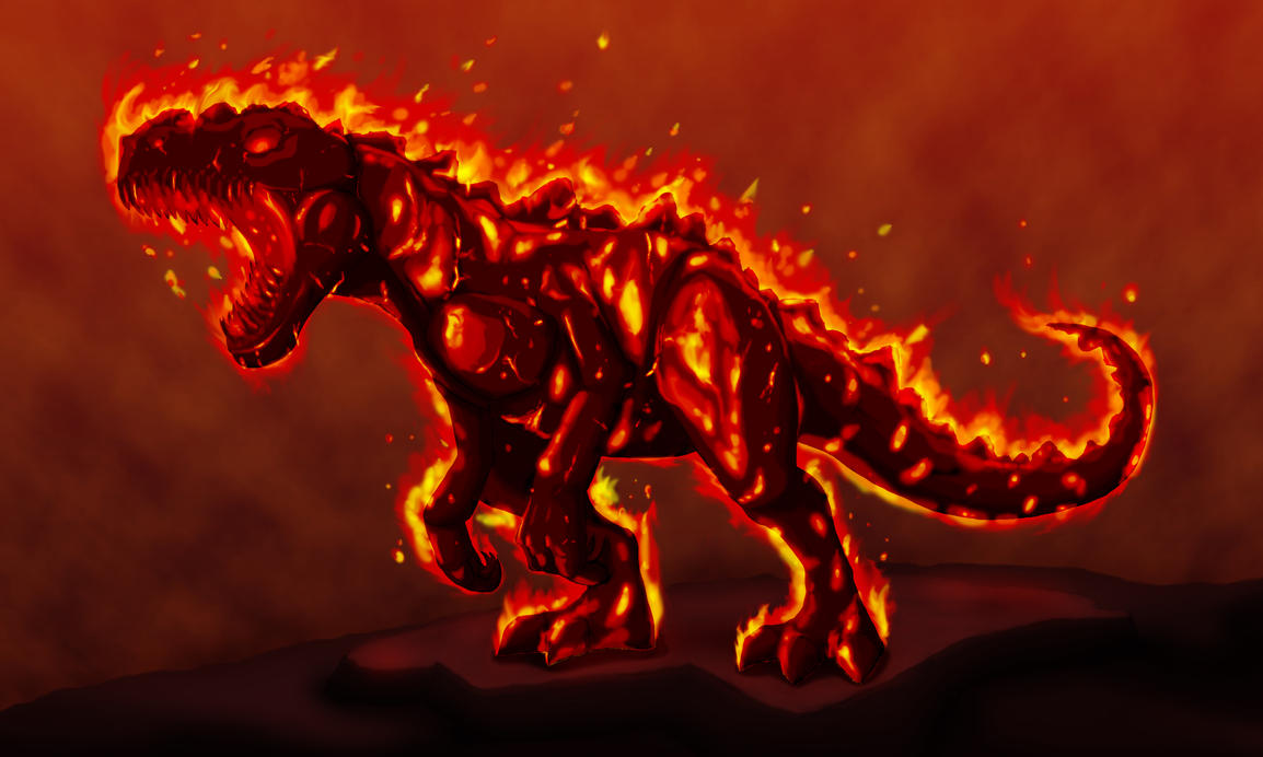 Blazing Imperious by SilverLeon88