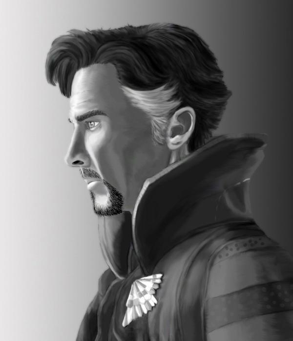 Doctor Strange (Benedict Cumberbatch) by SilverLeon88