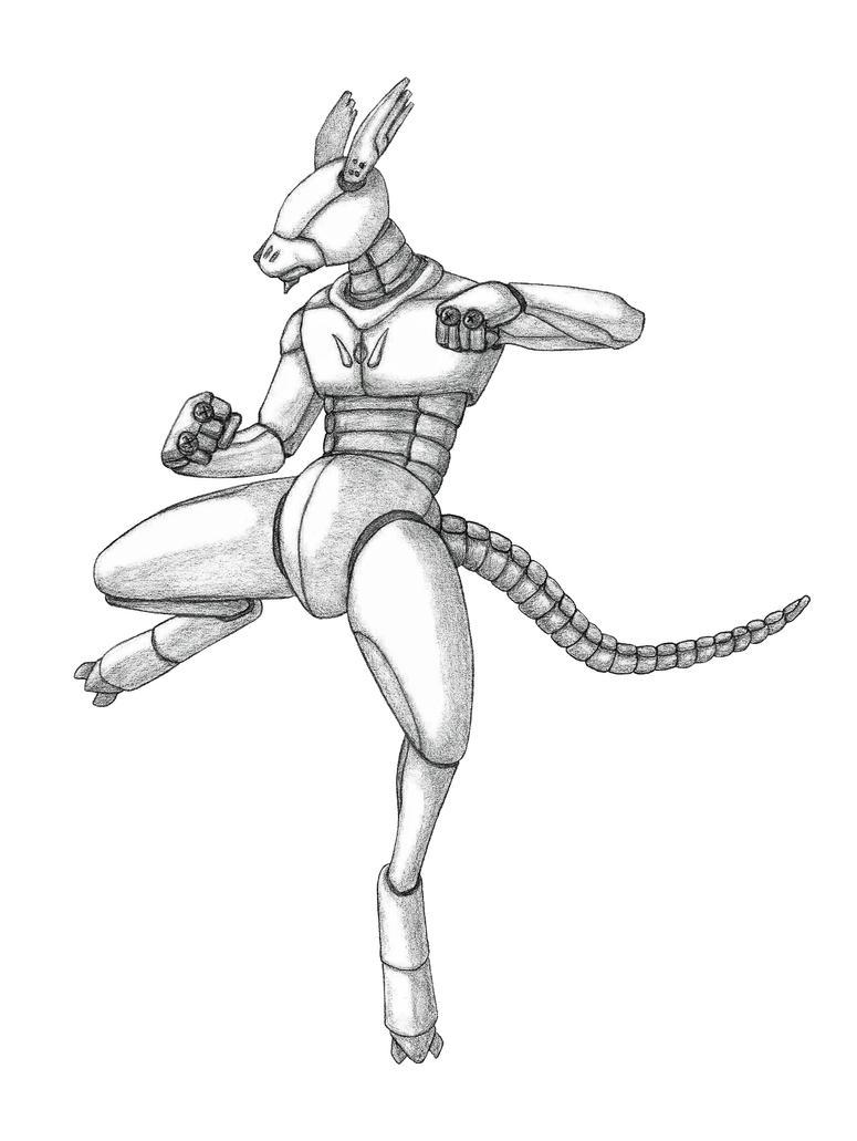 KangaRoobot by SilverLeon88