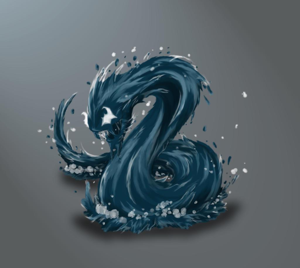 Water Crawler by SilverLeon88