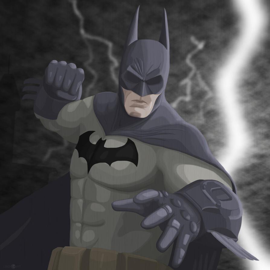 Batman by SilverLeon88