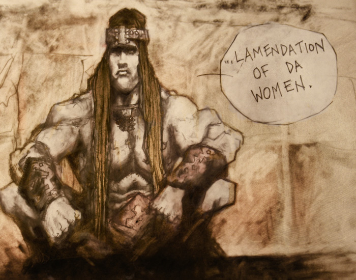 Conan knows whats best in life