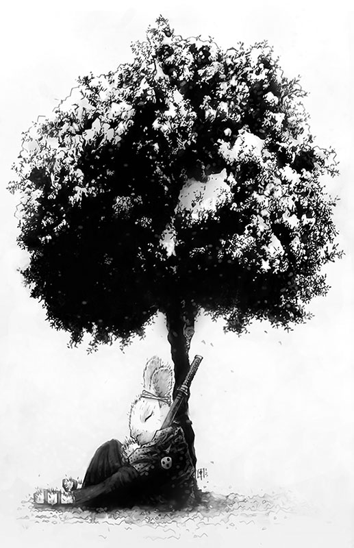 Usagi Yojimbo by tomasoverbai