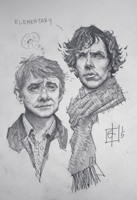 Elementary my dear Baggins by tomasoverbai