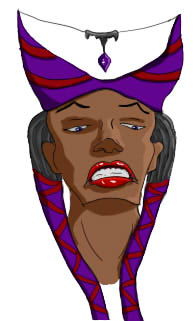 Tymora the Sorceress Queen by Davian714