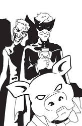 A Doctor, a Pyg, and a Clown by BlitheFool