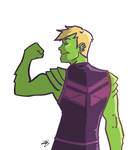 Hulkling by BlitheFool