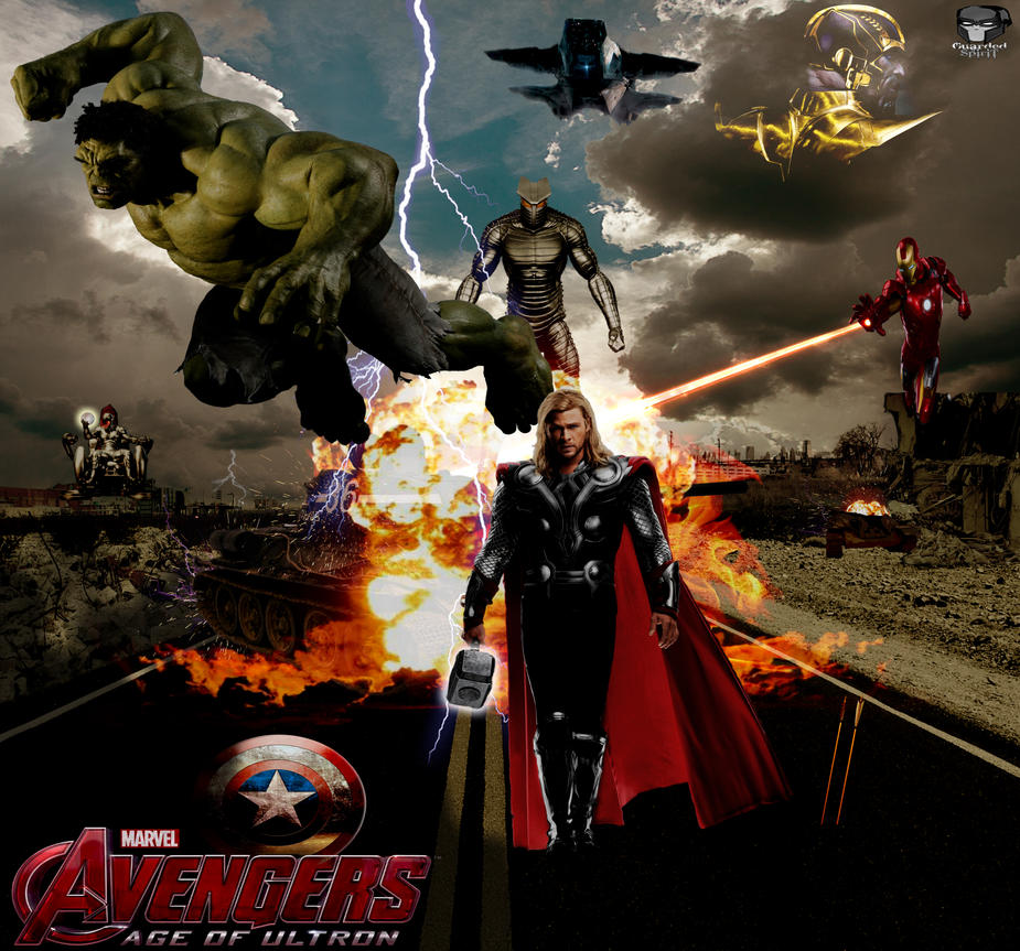 Avengers Age Of Ultron By Iloegbunam On Deviantart: The Avengers Age Of Ultron By Guardedspirit On DeviantArt