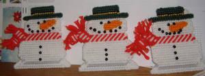 Crafts: Snowman Ornaments