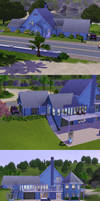 Sims 3: Large Beach House