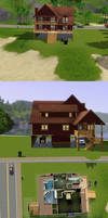 Sims 3: Another Beach House