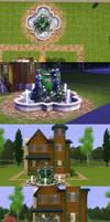 Sims 3: Mini Victorian by PrlUnicorn