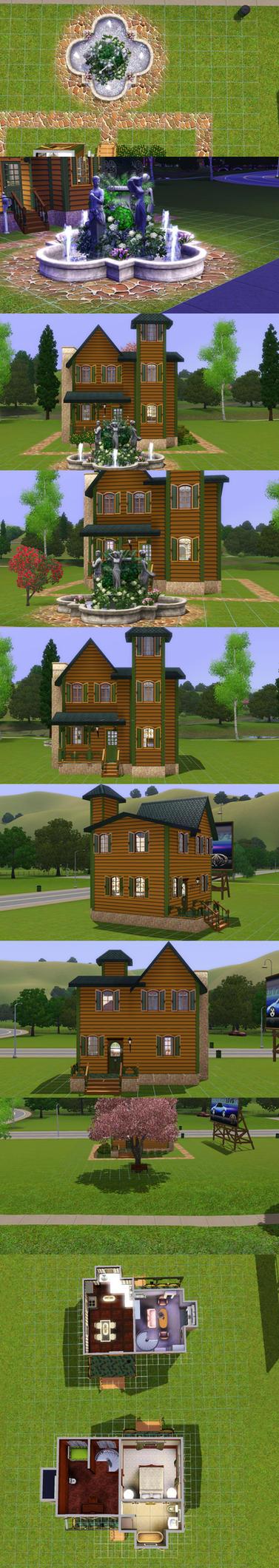Sims 3 Mini Victorian By Prlunicorn On Deviantart