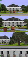 Sims 3: Plantation with Pond by PrlUnicorn