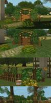 Dragon Valley Tudor - Garden