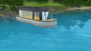 Sims 3: Houseboat WIP