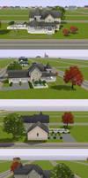 Sims 3: Victorian with Garden