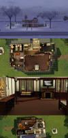 Sims 3: Dragon Valley Tudor 1