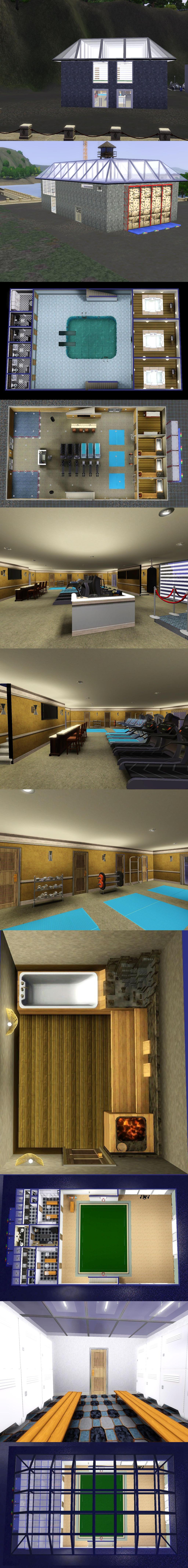 DESMC: Dockside Gym by PrlUnicorn