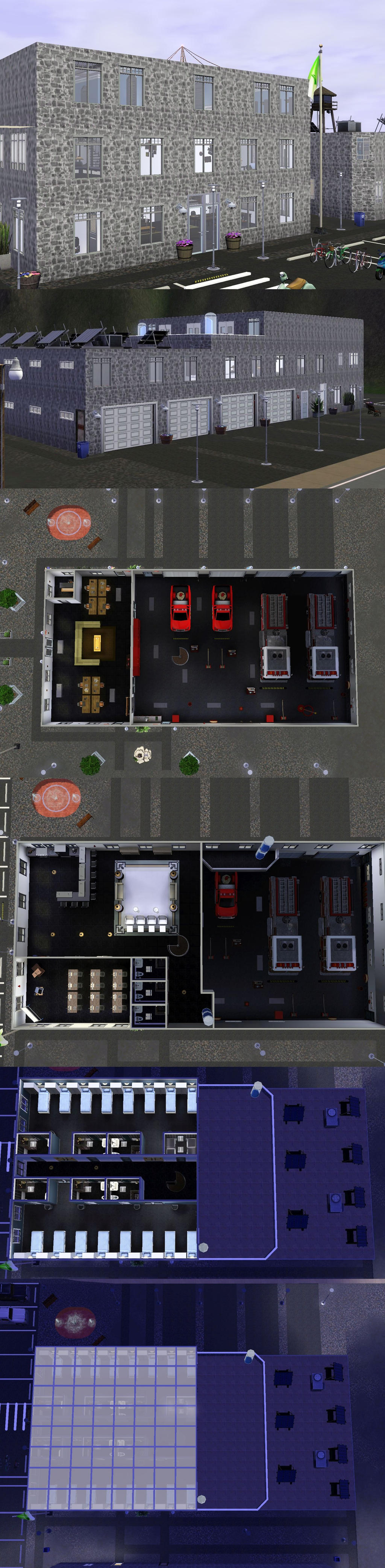 DESMC: Fire Brigade Station by PrlUnicorn