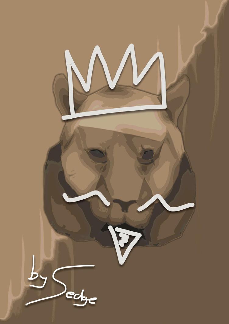 Crowned bear or tiger? lol by SedgeII
