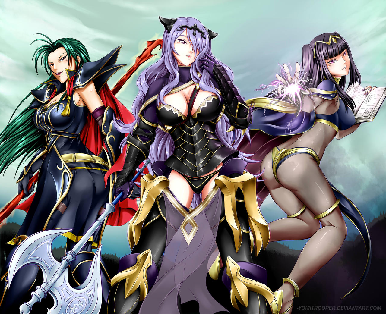 azura and camilla wallpaper - photo #48