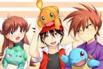 Cherishing your Starter Pokemon