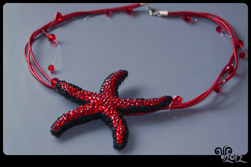 Necklace -Star- by ViKiV