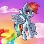 Speedpaint #1 - Rainbow Dash