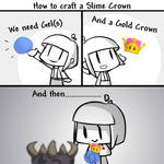 How to  craft a Slime Crown