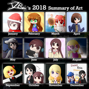 JzBoy's 2018 Summary of Art