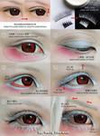 Cosplay eyes make up tutorial