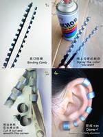 Fake Lip ring / Earring Tutorial by mollyeberwein