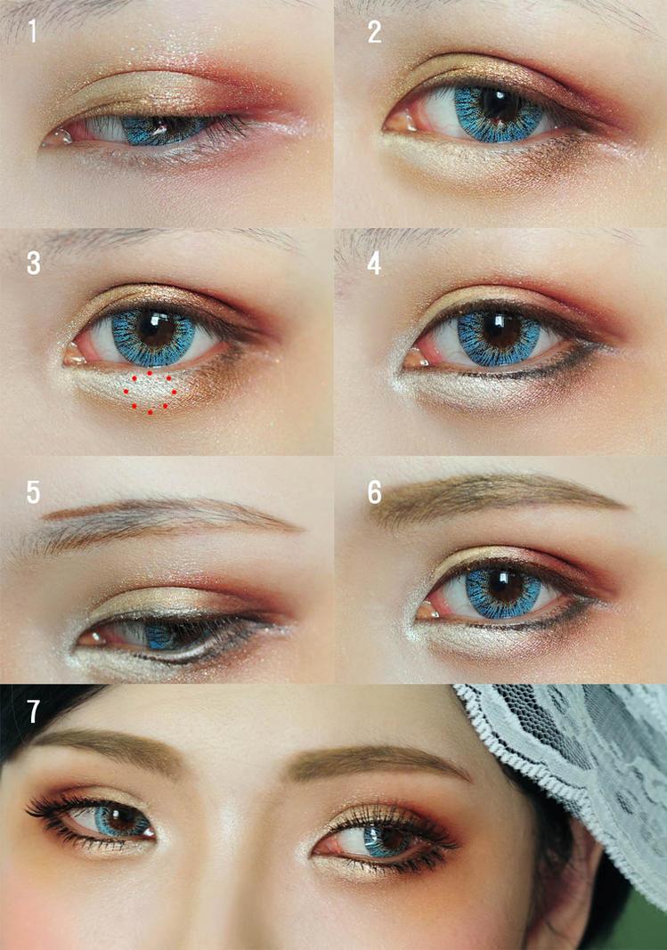 Eye Makeup Tutorial By Mollyeberwein On Deviantart