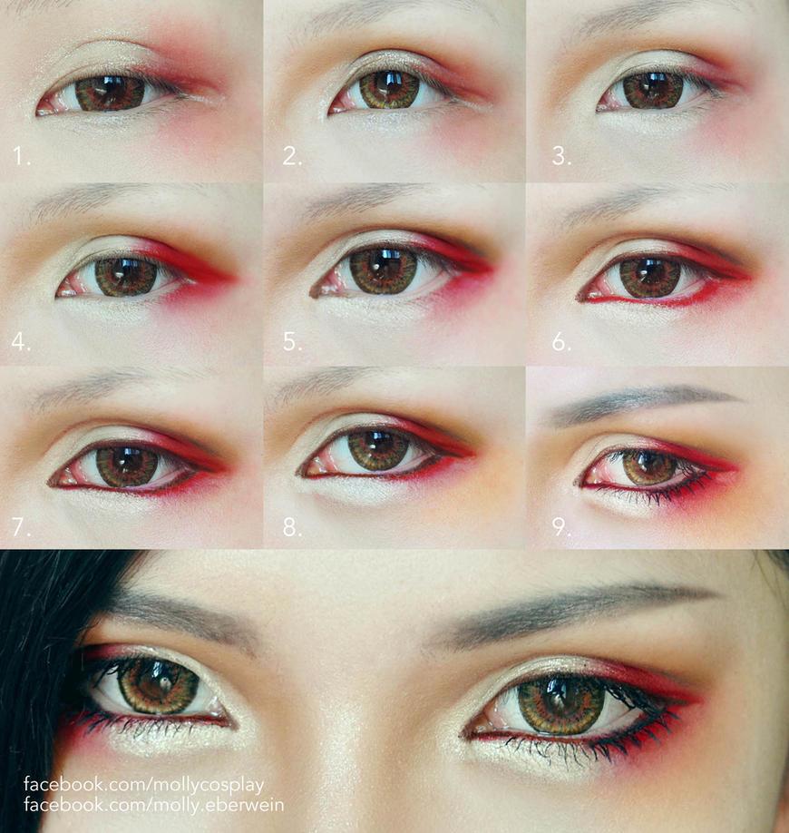 Anime Eyes Makeup Cosplay Cosplay Eyes Makeup by