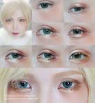 Cosplay Eyes Makeup / Dolly Eyes Makeup tutorial