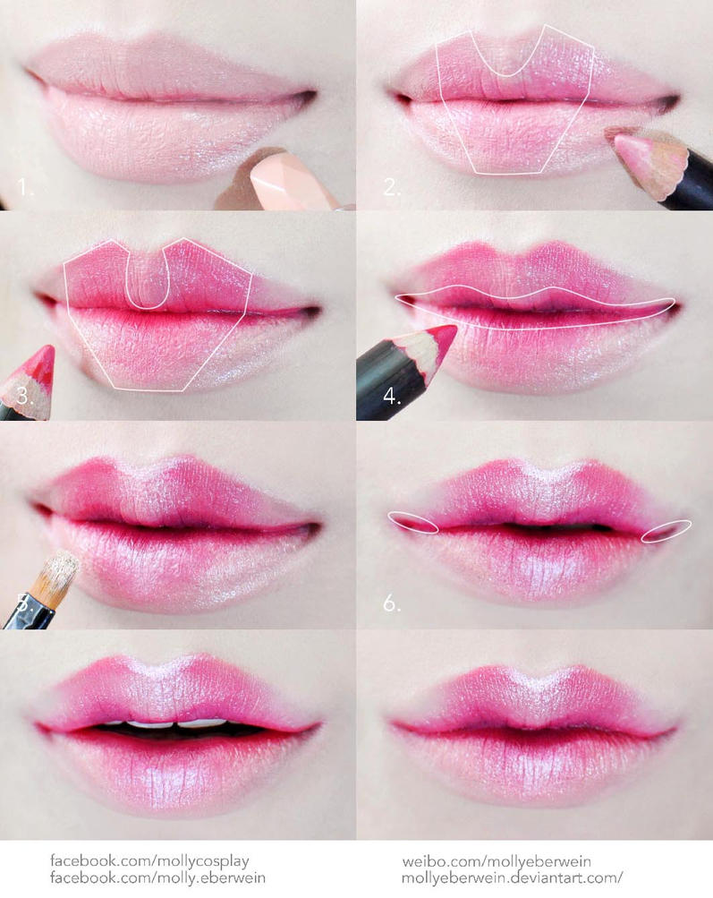 Cosplay Dolly Lips Makeup Tutorial By Mollyeberwein On