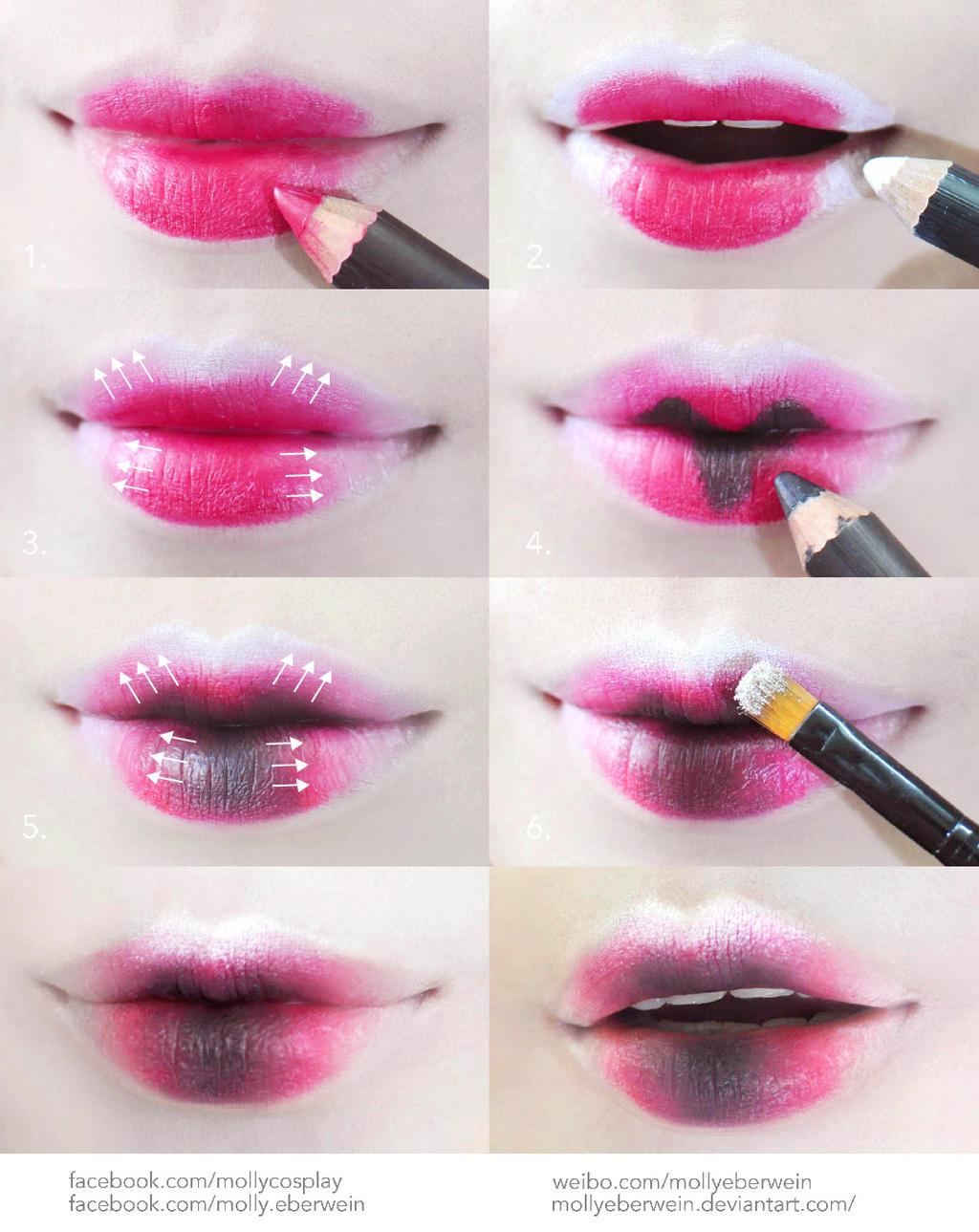 Tutorial Anime Lips Makeup 1 - Mugeek Vidalondon